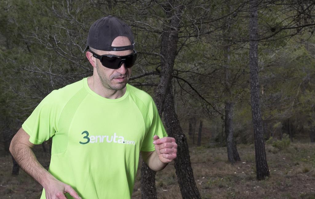 Germán prueba las Siroko Tech k2 haciendo running
