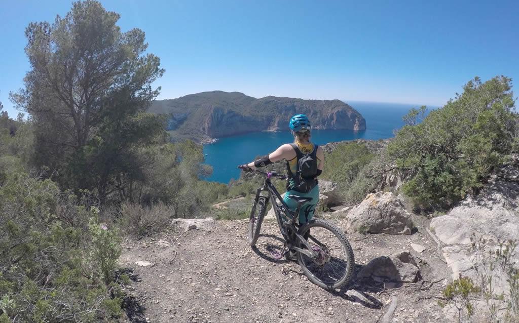 Ciclismo de montaña en Ibiza