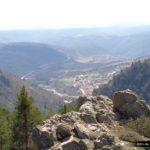 Vista de Noguera desde el Mirador del Corral de Mingón