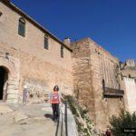Llegada al Castillo por el sur de las murallas
