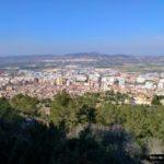 Vistas de Xàtiva desde el castillo