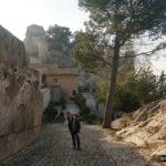 Recorriendo el Castillo de Játiva