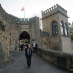 Salimos del castillo por la Segunda puerta