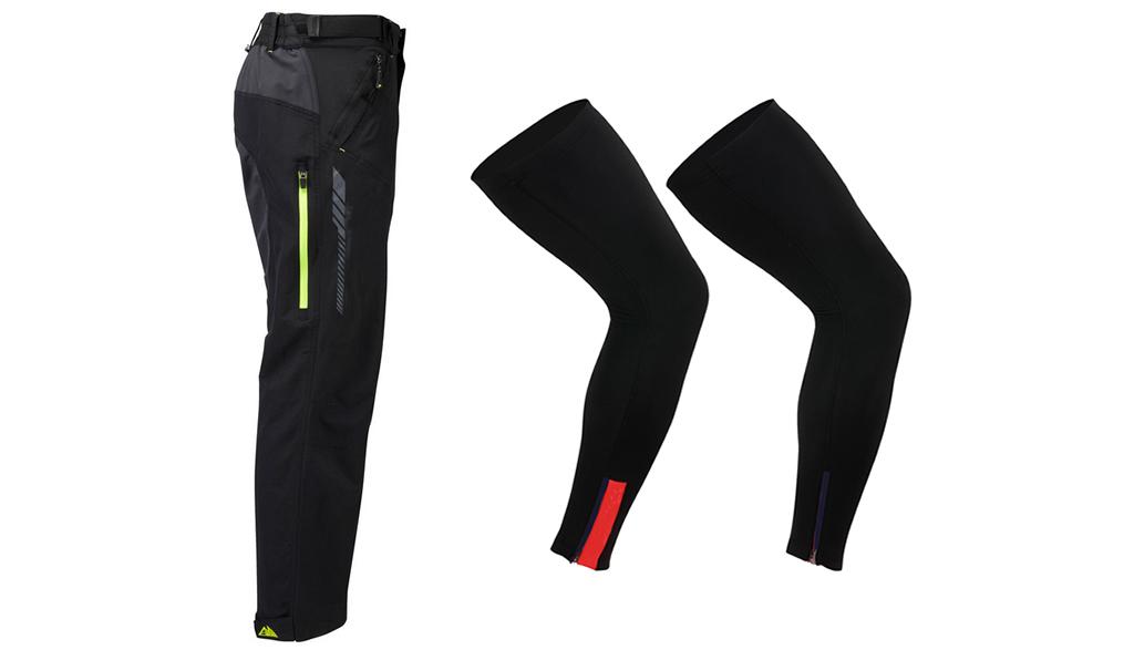 Pantalones largos y perneras