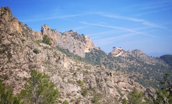 Sierra y Castillo de Xàtiva