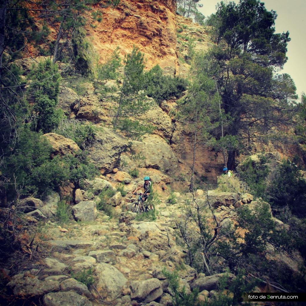 Senda de los Ibañez por el Barranco de las Fuentes