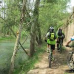 Sendero a Olba junto al Rio Mijares
