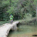 Cruzamos de nuevo sobre el Rio Mijares