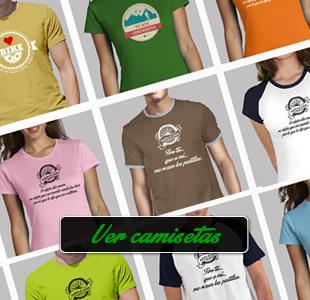 Camisetas ciclismo y senderismo