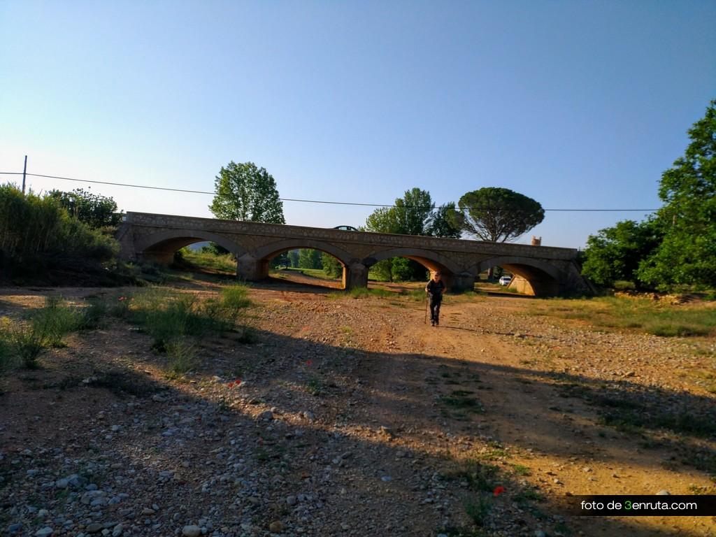 Inicio de la ruta desde la Rambla de Barrachina