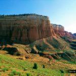 El paisaje es digno de las pelis del Lejano Oeste