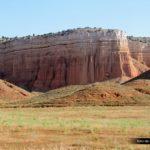Los mallos arcillosos conforman espectaculares acantilados