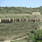 Vista de la trialera de la Talaya desde abajo