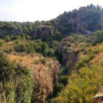 Camino hacia la Cueva de las Palomas