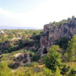 Cueva de las paloma desde el sendero