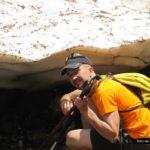 Hielo en el barranco de la Ribereta