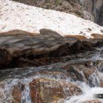Hielo en el Barranco de Ribereta