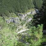 Vistas de vértigo desde el camino colgado