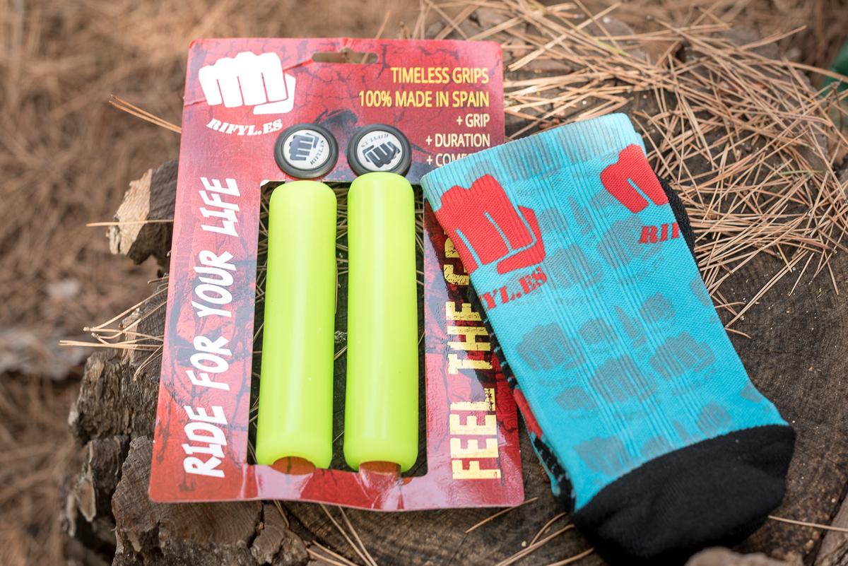 Los puños y calcetines Rifyl que recibimos