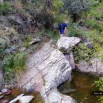 Sendero por el barranco del Agua Negra