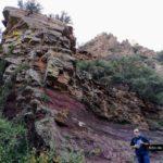 Las rocas de ródeno forman curiosas formas