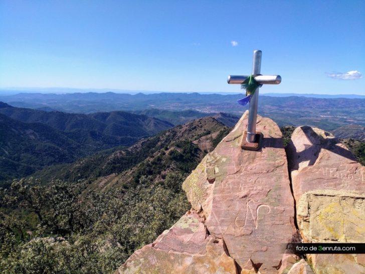 Pico de Espadán por el Barranco del Agua Negra