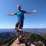 Paco en el pico de Espadán