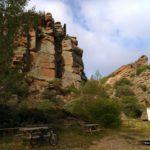 Pequeña área recreativa en el Barranco Cardoso