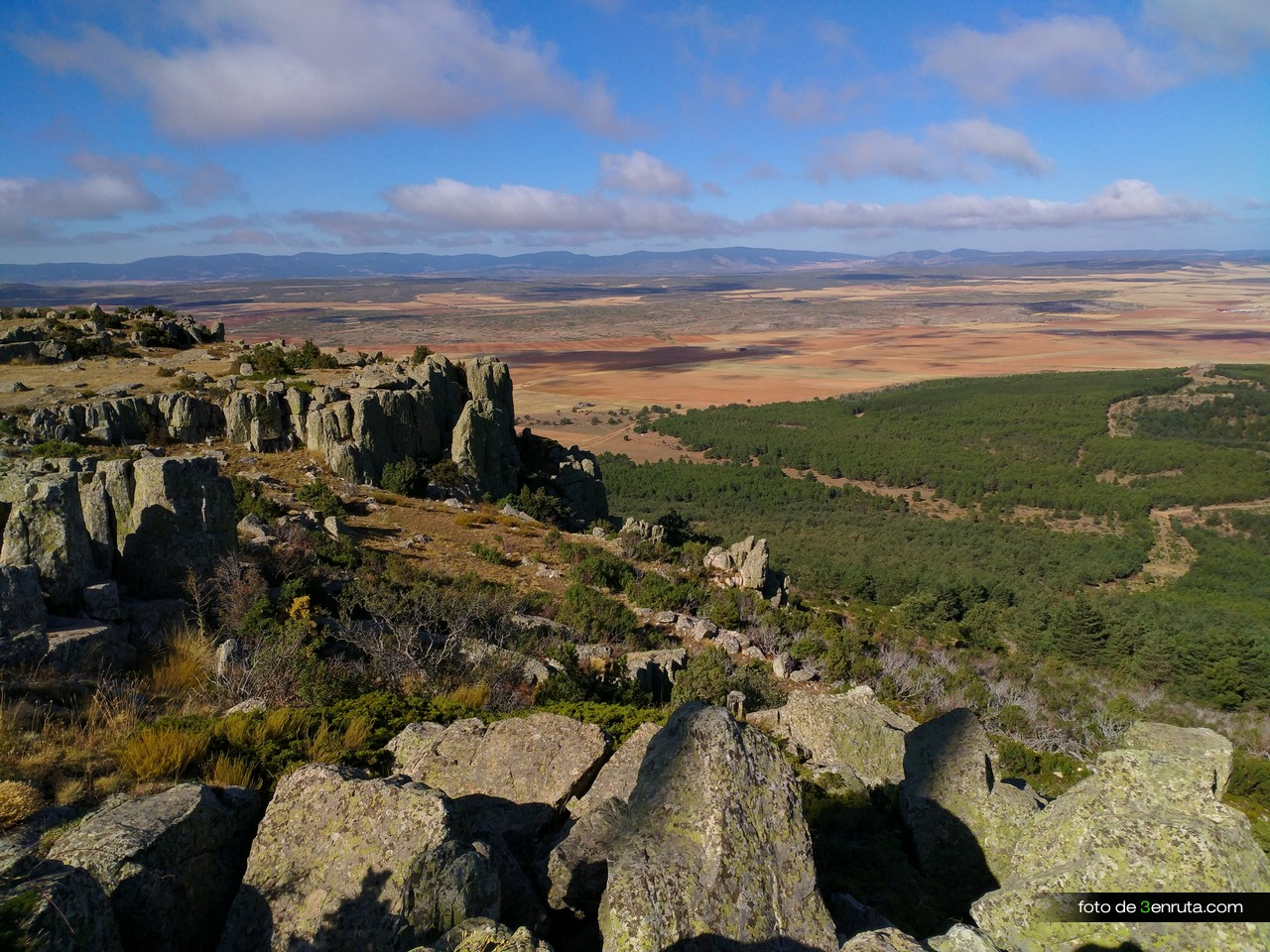 Vistas del Valle desde el Cerro de San Ginés
