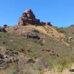 Castillo de Peracense desde la Bajada