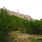 Rocas de la aitana a nuestra derecha