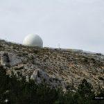 Bola de la base militar de Aitana