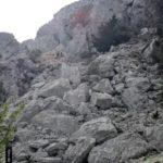 Senderistas subiendo al Pass de la Rabosa
