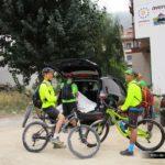 Inicio de la ruta desde el parking de Alcalá del Júcar