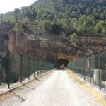 Cruzamos el embalse del Molinar por un tunel