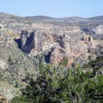 Vista del Santuario del cristo de la Vida desde el camino de regreso