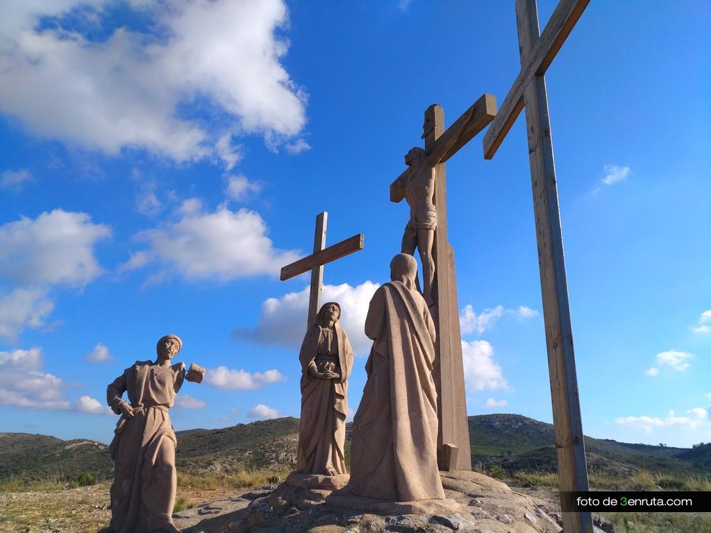Representación de Jesus crucificado