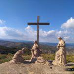 Representación de Jesus bajado de la cruz