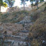 Camino al Castillo de Sagunto desde el Teatro