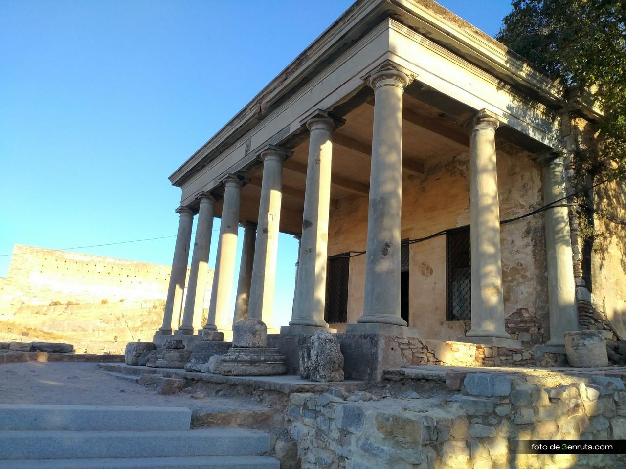 Antiguo museo arqueológico dentro del Castillo de Sagunto