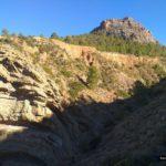 Subida por el Barranco del Mas hacia Torre Castro