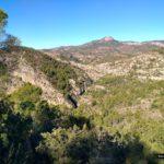 Vistas del valle hacia Peña Cortada