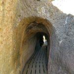 Túneles del acueducto de Peña Cortada