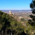 Castillo de Carricola desde la senda