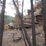 Bonitas formas de roca en el Valle de Ligros