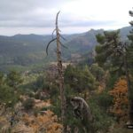 Vistas desde el mirador del Alto del Puerto de la Sierra de Albarracín