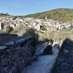 Llegada a Ahín por el Camino de la Mosquera