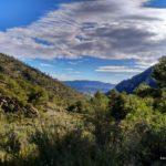 Vistas desde la subida por el Barranco de la Caseta