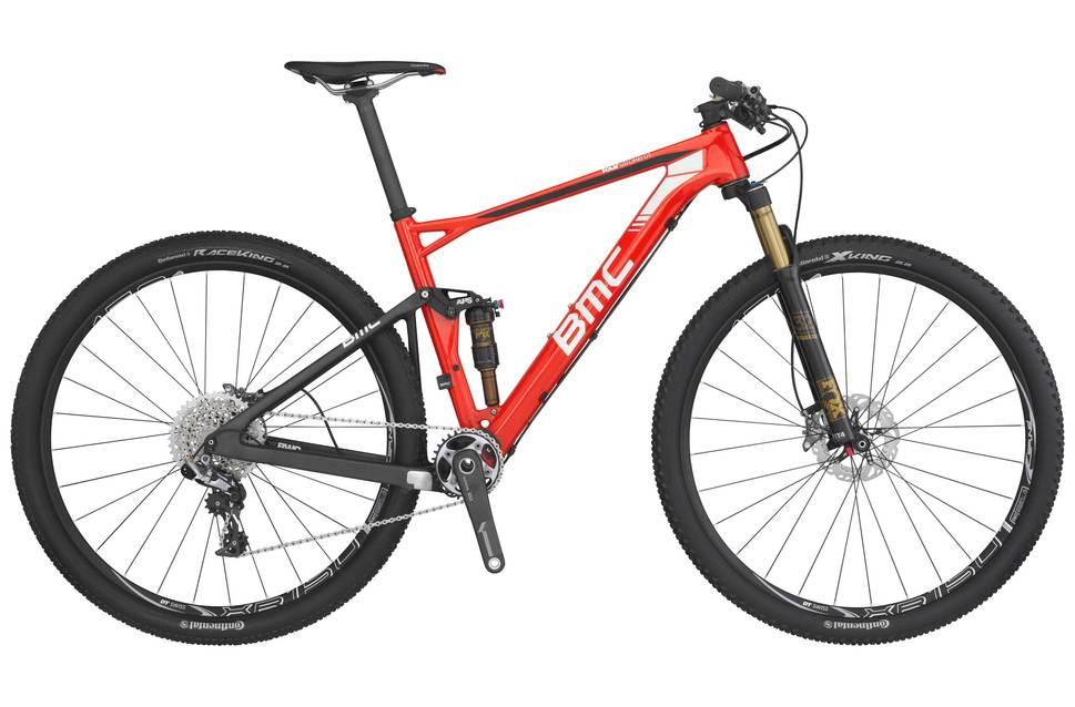 BMC Fourstroke FS01 - Bici ideal para rutas pisteras con muchos kilómetros