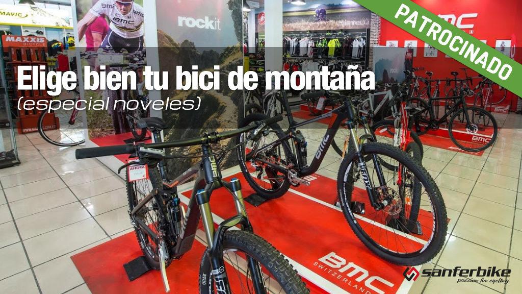 Como elegir correctamente tu bicicleta de montaña